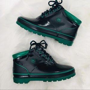 Vintage • Blue Sporto Duck Boots